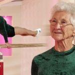 Aos 92 anos, a mais velha ginasta do mundo dá show