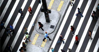 Mobilidade a pé acolhe a longevidade