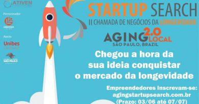 II Chamada de Negócios da Longevidade busca elaborar um catálogo de soluções para 60+