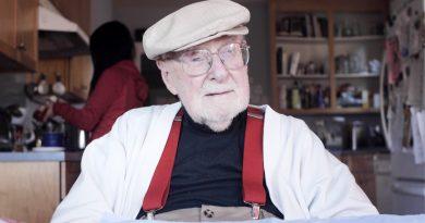 Como é ser um homem de 97 anos?
