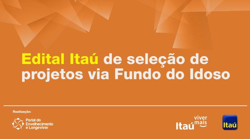 Edital Itaú