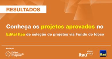 Itaú Viver Mais divulga resultados do Edital Idoso 2021
